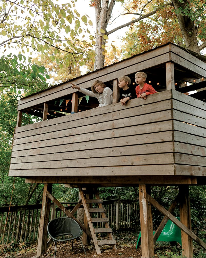 This Backyard Treehouse Is A Design Nerd S Dream