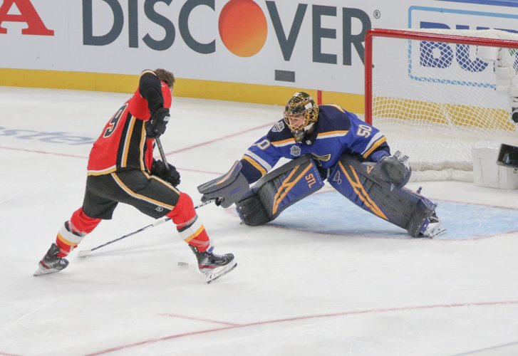 Photos: Blues player Jordan Binnington wins save streak in 2020 NHL All-Star skills competition