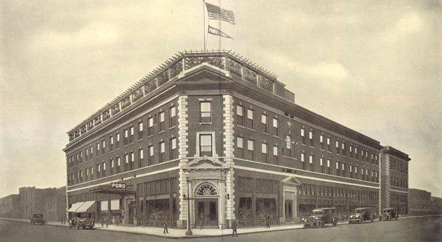 Poro College, Pendleton and St. Ferdinand Avenues, 1926, Missouri History Museum, N33297.jpg