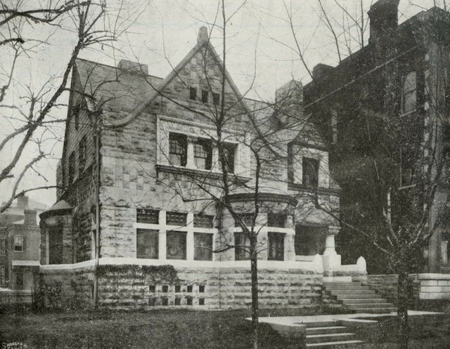 Barnett and Haynes, Robert Henry Stockton House, 3508 Lucas Avenue, Photograph by Sanders, 1902, Missouri History Museum, N34632.jpg