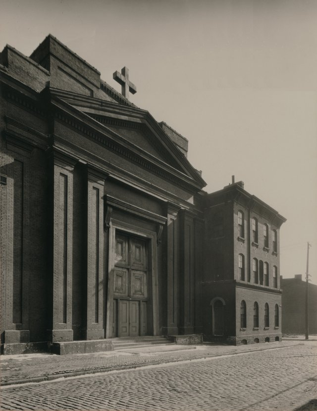 St. Mary of Victories, Photograph by Paul Piaget, ca. 1900, Missouri History Museum, N11134.jpg