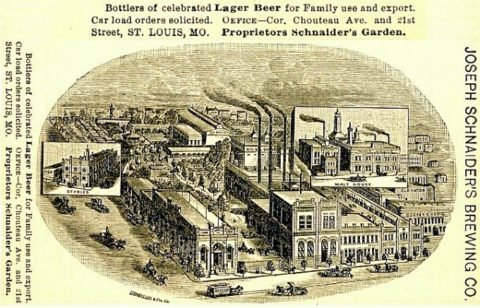 Schnaider's Brewery Label, 1886, Courtesy of Lafayette Square Archive.jpg