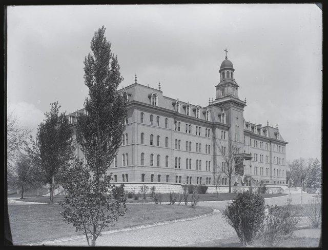 Brick Building on the Maryville Campus, Meramec and Nebraska, April 23, 1894, Missouri History Museum, P0245-S03-00063-6g.jpg