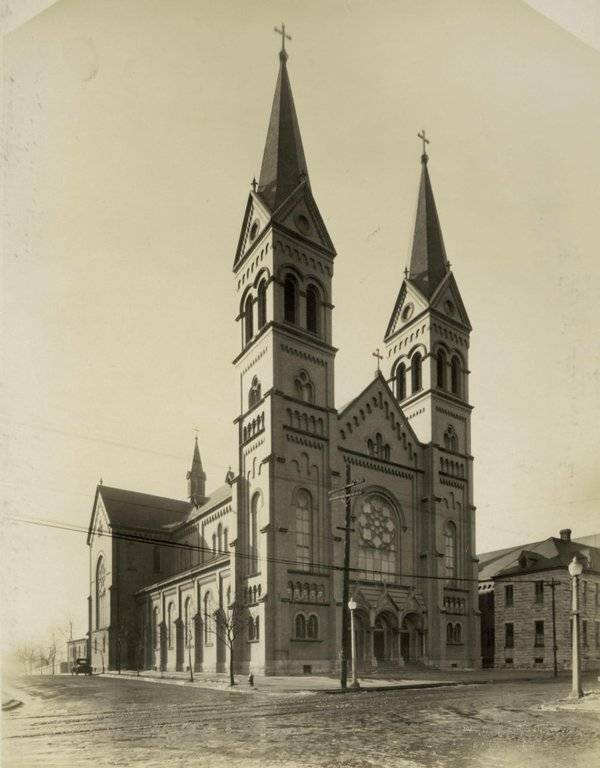 St. Anthony of Padua Catholic Church, 3134 Meramec, Photograph by W.C. Persons, c. 1925, Missouri History Museum, N34577.jpg