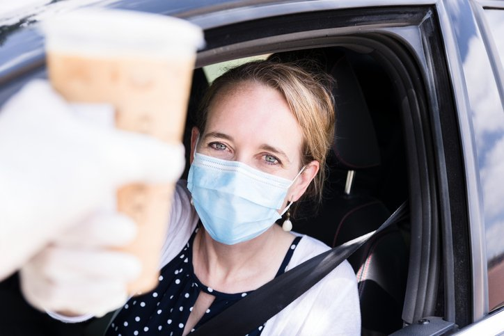 Ask George: Should restaurant customers be wearing masks at drive-through windows?
