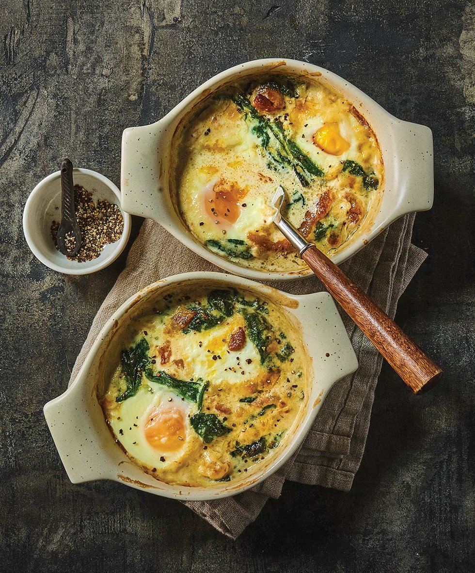 Chefs' holiday recipes: Gerard Craft's Eggs en Cocotte