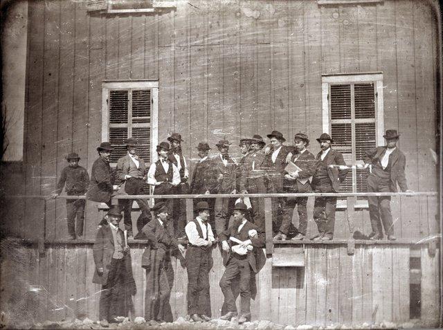 Lynch's Slave Market, Photograph by Thomas M. Easterly, 1852, Missouri History Museum, N17134.jpg