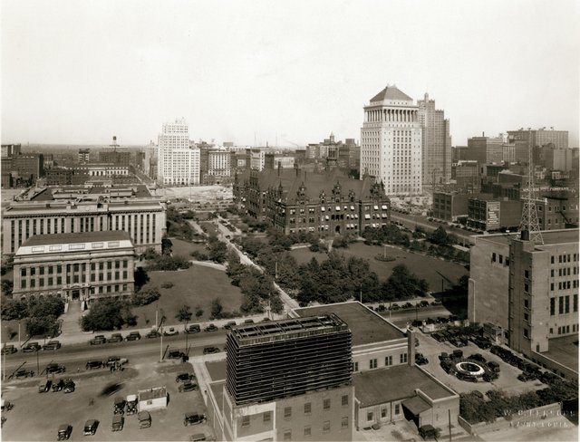 W.C. Persons, View of Civic Center, 1929-30, Misssouri History Museum, N33756.jpg