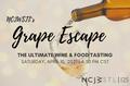 NCJW Grape Escape Logo