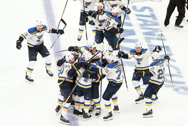 NHL: MAY 29 Stanley Cup Final - Blues at Bruins