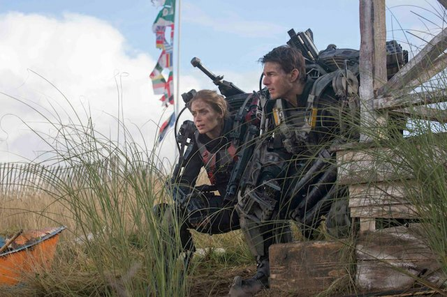 "Tom Cruise in ""Edge of Tomorrow"""